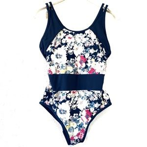 Moontide Navy Floral One Piece Swimsuit 6